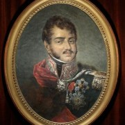 Miniaturowy portret ks. Józefa Poniatowskiego